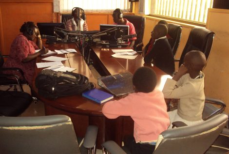 Child Rights Radio Program and Strengthening Child Protection Systems