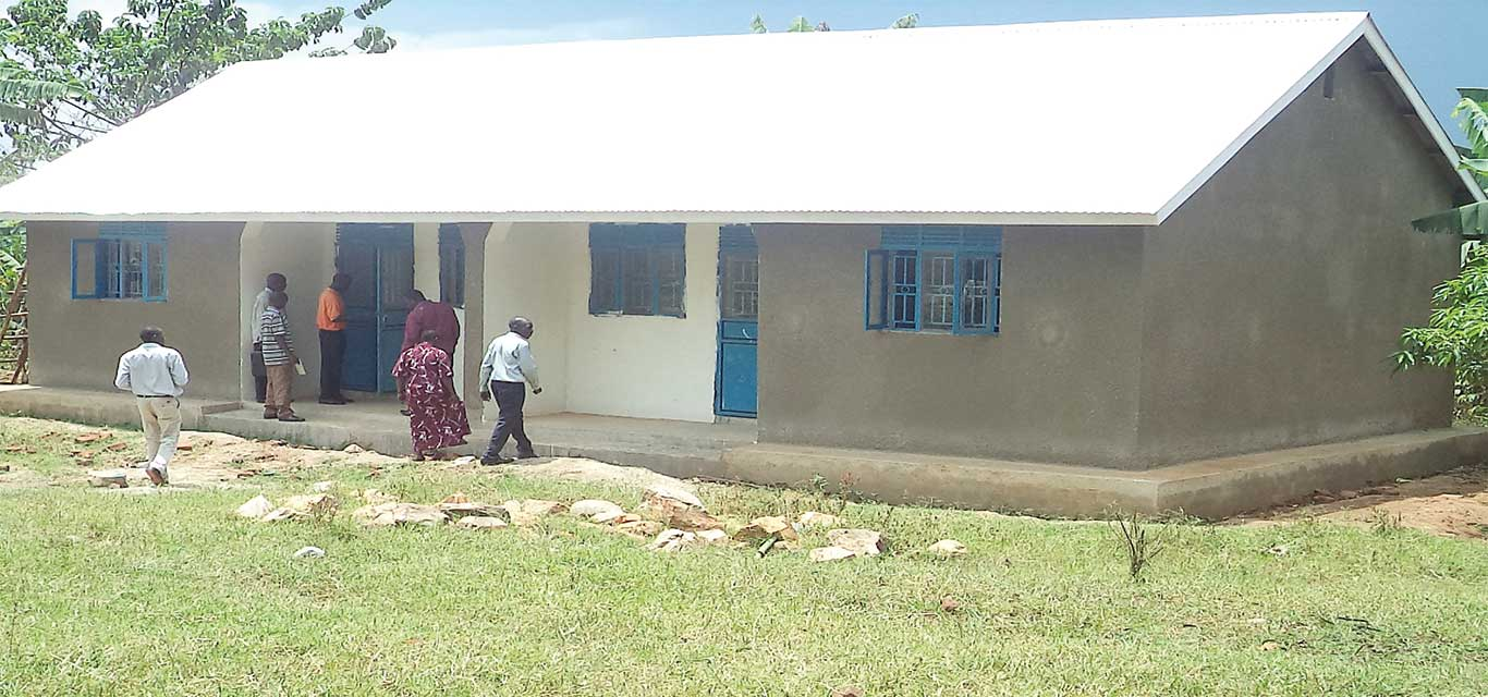 Newly Constructed Teachers quarters at Busona Primary school,Butagaya sub-county, Jinja district